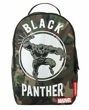 SPRAYGROUND MARVEL BLACK PANTHER CAMO LAPTOP URBAN SCHOOL BOOK BAG BACKPACK B583