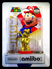 Amiibo Mario Gold Edition First Run US Print 025S1 ERROR DEFECT PACKAGE NINTENDO