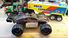 Nikko Thunder Sound Road Express Convoy Truck R/C Remote Control Lorry Trailer