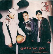 CD 2 TITRES--3T FEAT HERBIE--GOTTA BE YOU--1997
