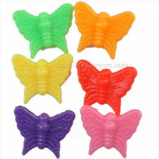 150pcs 112283 Wholesale Mixed Colorful Butterfly Plastic Spacer Beads Lots