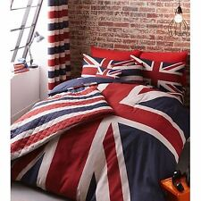 CATHERINE LANSFIELD UNION JACK DOUBLE DUVET COVER SET NEW