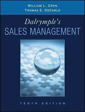 Dalrymple's Sales Management: Concepts and Cases 10E by William L. Cron, Decarlo