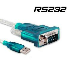 CABLE ADAPTADOR USB 2.0 A PUERTO SERIAL SERIE DB9 RS 232 RS-232 PARA PC PORTATIL