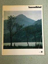 HASSELBLAD Camera MAGAZINE 1975 Issue 3  printed in Sweden Photography book