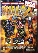 DVD Burn on the Westcoast 2 - Motocross dal Strade of USA - nuovo conf. orig.