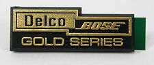 1990 - 1996 Corvette Delco Bose Gold Series Speaker Grille Emblem
