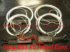 SET TRANSFORMATION ANGEL EYES CCFL 6000K FÜR BMW X5 E53 LICHT SEHR WEIß
