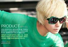 Short Straight Platinum Blonde Wig Mens New Trendy Cosplay Party Costume PO184