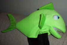 Blacklight Tropical Fish Ventriloquist Puppet-VBS ministry,Wildlife Green