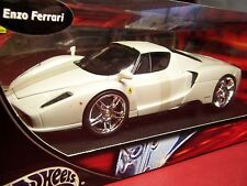 HOT WHEELS H2721 FERRARI ENZO WHIPS 1/18 RARE PEAR WHITE NIB