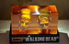 The Walking Dead Walker Head Statue Negan Grimes Dixon Zombie McFarlane
