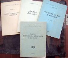 3) 1974 LOTTO VOLUMI SULL'AFRICA DELL'ISTITUTO ITALO - AFRICANO. CON ATLANTE