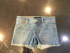 "Juicy Couture New & Genuine Girls Age 8/10 Denim Shorts With ""JC"" Logo"