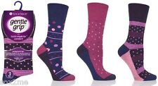 6 PAIRS LADIES WOMENS NON ELASTIC SOCKS DIABETIC GENTLE GRIP SOFT TOP UK 4 - 8
