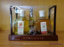 Set HIDALGO de Myrurgia. Eau de toilette 207 ml + after shave + pipa. Años 70's