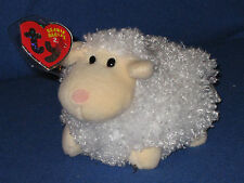 TY WOOLSY the LAMB 2.0 BEANIE BABY - MINT with MINT TAGS