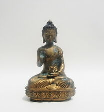 Antique Chinese Gilt Bronze Buddha Statue