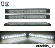 2x Car Vehicles 12 LED Daylight Daytime Day Driving Running Light DRL Fog Lamp