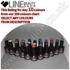 Any 10 colours VB® Line UV/LED nail gel polish starter kit from 250 available!