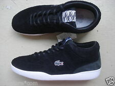 LACOSTE L! ve x footpatrol Halfcourt 43 Suede/Leather Black/White