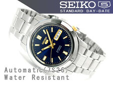 Seiko 5 Men's SNKK11K Stainless Steel Automatic 21 Jewels Day Date Watch