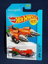 Hot Wheels New For 2015 HW Space Team Series #41 OLLIE ROCKET Make-A-Wish