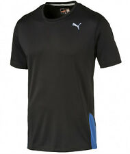 Men's New Puma Running Top, T-Shirt - Blue, Red, Black - Gym Fitness Jogging