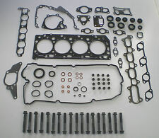 HEAD GASKET SET & BOLTS FIT MITSUBISHI L200 TRITON 2.5 TD DiD 16V 2006 on VRS