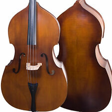 Cecilio Size 3/4 Flamed Acoustic Upright Double Bass +Case+Bow ~3/4CDB-200