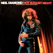 "12"" DLP Neil Diamond Hot August Night (Solitary Man, Shilo, Play Me) 70`s MCA"