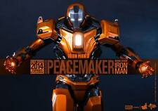Hot Toys Peacemaker Iron Man 3 Mark XXXVI MK 36 MMS258 Sideshow Exclusive - Open