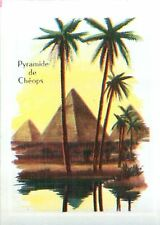 IMAGE CARD 60s Pyramide de Khéops Égypte Gizeh Great Pyramid of Giza Egypt
