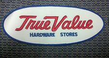 "Vintage True Value Hardware Stores Sew-On Patch EMBROIDERY 9.5"" x 4"""
