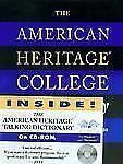 The American Heritage College Dictionary (Book and CD Edition)