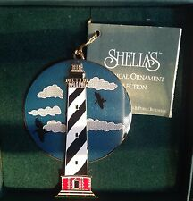 CAPE HATTERAS LIGHT NC 1995 Shelia's 3D Historical Ornament  OR007 FIRST EDITION