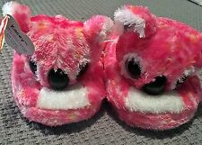 Ty Beanie Boos Kacey Toddler Girls Pink Slippers Size LG (4-5) - FREE SHIPPING