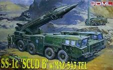 """1/35 SS-1c """"SCUD B"""" missile with MAZ-543 TEL launcher ~ Dragon #3520"""