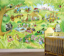 Leonard at the Zoo-Wall Mural-10.5 by 8 in feet