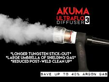 AKUMA 12 Pyrex Glass Cup With Ultraflo Gas Diffuser Welding Tig Finger Fupa