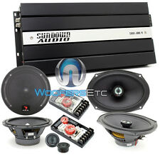 "pkg FOCAL 165A1 6.5"" COMPONENT + 690CA1 SG SPEAKERS + SAX100.4V2 4-CH AMPLIFIER"