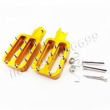 CNC Foot pegs For Chinese XR50 CRF70 KLX110 TTR Pitsterpro Pit Dirt Bikes