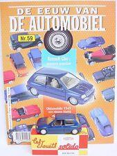Solido Hachette 1:43 RENAULT CLIO SPORT Model Car + Collectors Magazine #59 MIB!