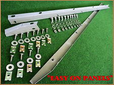 RANGE ROVER CLASSIC WING FINISHER PANEL 390123 390124 WITH FITTINGS