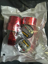 6 x  Scotch Expressions RED Metallic Tape 3M GIFT TAPE 19MM X 5.08M