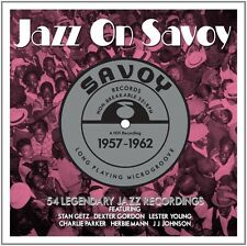 JAZZ ON SAVOY 1957-62 3 CD NEU