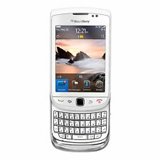 BlackBerry Torch 9800 - 4GB - WHITE (Unlocked)(AT&T)-CLEAN ESN- V.G. CONDITION!