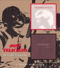 10 to 23/Fireworks [Remaster] by Jos' Feliciano (CD, Jan-2008, Beat Goes On)
