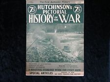 Hutchinson's Pictorial History Of The War.Series 9, Number 13 11th-17th Dec 1940