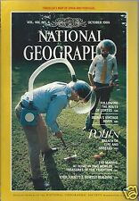 National Geographic Magazine October 1984 Pollen Route Of Cortes The Maoris